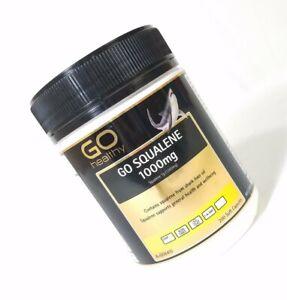 GO SQUALENE 1,000mg 200 Softgel caps - Shark Liver Oil