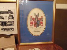 Hotchkiss coat-of Arms, pictures,replica 1938 Hotchkiss car, Ladies watch