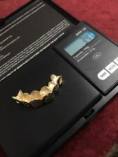 10kt Yellow Gold 6 Teeth Grill For Scrap From Mix Lot 3.4 Grams