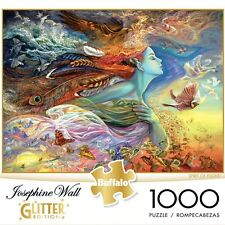 Buffalo Games Spirit of Flight Glitter Edition 1000-Piece Jigsaw Puzzle, 11721