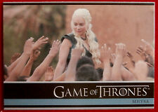GAME OF THRONES - MHYSA - Season 3, Card #30 - Rittenhouse 2014