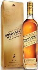 WHISKY  JOHNNIE WALKER GOLD LABEL RESERVE  AL 40% DA CL.70 CON ASTUCCIO