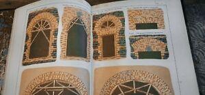 Italy c1890 +130 antique lithograph Architecture building original Book Misuraca