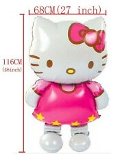Giant Inflatable Hello Kitty AirWalkers Mylar Balloon 46 inches - Free Shipping