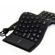 Foldable Silicone Usb Keyboard Wired Waterproof Roll Keyboard For Pc Laptop Hot-
