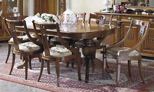 Esstisch Gedrechseltes Gestell Löwenfüße Oval Ausziehbar Furnier Stil Klassisch