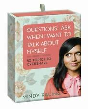 Mindy Kaling NEW Questions I Ask When I Want to Talk about Myself The Office tv