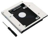 2nd Hard Drive SSD HD Caddy Bay for MSI GT60 GE60 GT70 Swap DS8A8SH SN-406AB DVD