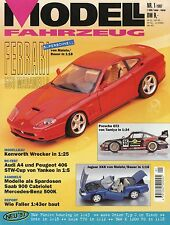 Revue modèle véhicule 1 1997 John Deere Ferrari 550 Jaguar xk8 CITROEN 15