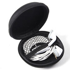 Portable Hard EVA Zippered Carrying Case Bag Storage for Headset Earphone