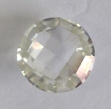 Fancy Rose Cut Round Moissanite Use 4 Ring Loose 0.78 Ct 5.85 mm Vvs1 Near White