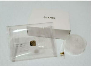 Chanel Novelty Clear Pouch Waist purse bag without box and bag