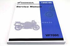 New Genuine Honda Service Repair Manual 85-86 VF700 C V45 Magna Shop Book #N34