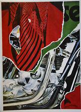Fritz Köthe 70er Jahre Kunst-Postkarte, Pop Art, verschiedene Motive (7) - Neu