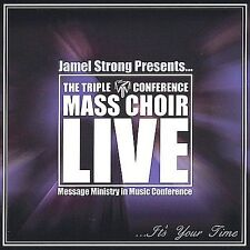 FREE US SHIP. on ANY 2 CDs! NEW CD JAMEL STRONG: IT'S YOUR TIME