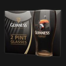 Guinness Pint/Beer Glasses Breweriana & Collectable Barware