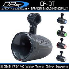 "Wakeboard Tower Marine Speaker 1.75"" VC Driver Horn UTV ATV Boat Jeep DS18 CF-DT"