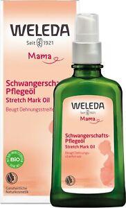 Weleda Mama Schwangerschafts-Pflegeöl 100ml Stretch Mark Oil Schnelle DHL