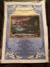 Spirit Of The Dolphin Cross Stitch Kit By Tracie Koziura