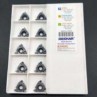 10PCS 22ER 5.0ISO LDA carbide inserts thread insert CNC lathe tool for SER / SNL