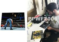 WWE SETH ROLLINS HAND SIGNED AUTOGRAPHED 8X10 PHOTOFILE PHOTO WITH PROOF COA 18