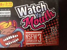 Watch Ya'' Mouth Adult Phrase Card Game Expansion Pack #3