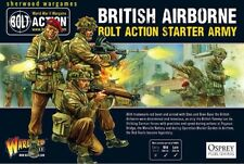 28mm Warlord British Airborne Starter Army BNIB, WWII Bolt Action Paratroops