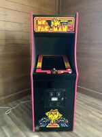 Restored Black Ms. PacMan Arcade Machine, Upgraded To Play 412 Games!