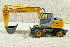 ROS 1/50 Diecast New Holland MH 5.6 Wheeled Excavator Construction Equipment