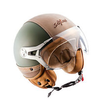 Soxon Sp-325-urban Green · Bobber Mofa Retro Chopper Biker Moto Vespa (a5m)