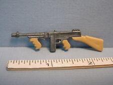 Dollhouse Miniature Thompson Sub Machine Gun - #ISL1232 -Island Crafts 1/12th