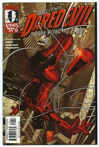 DAREDEVIL #1 MARVEL KNIGHTS NM/MT 9.8 W 1st Kevin SMITH DD Story B/O