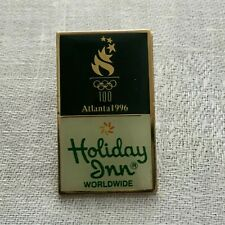 Holiday Inn Worldwide Pin Atlanta Olympics Sponsor 1996 Souvenir Hat Lapel Pin