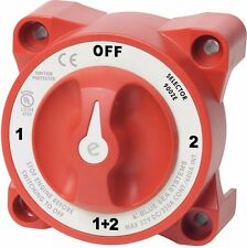 Blue Sea E-Series Marine Battery Switch Selector 9002E - Boat Yacht - New NS20