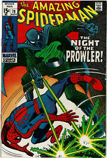 Amazing Spider-Man #78  FN- 5.5  OW/W  1st Prowler!