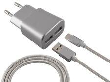 Cargador movil Ksix 2xusb 2.4a 1 cable micro USB Pgk02-a0021264