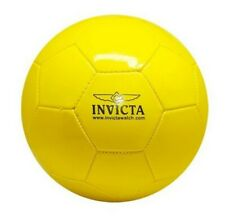 Invicta Soccer Ball Sport Yellow Full Size IG0005