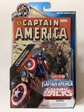 Captain America & Winter Soldier Action Figure Set Comic Packs Marvel & Hasbro