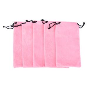 10X Microfiber Pouch Bag Soft Cleaning Case Sunglasses Eyeglasses Glasses HU  L3