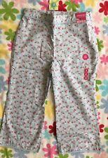 New Gymboree Girls Strawberry Patch Line Capri Pants, Size 8