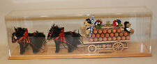 2004 Steiff Lowenbrau Beer Four Horse Cart w/ Three Bears 038648 323/500 in Case