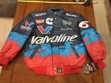 2000 Nascar Mark Martin Valvoline Cummins Ford Racing Jacket NWT Small Leather