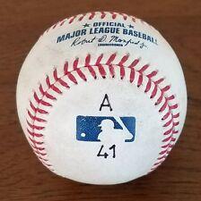 Albert Pujols Game Used 600th Home Run Marked (A 41) Baseball MLB HOLO L@@K
