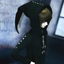 UncleSD17 1/3 1/4 BJD Clothes Top Hoodies Coat PUNK Style Rivet Deco AOD DOD DZ