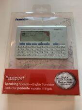 New listing Franklin Passport Tes-700 English/spanish Translator by Franklin Electronics