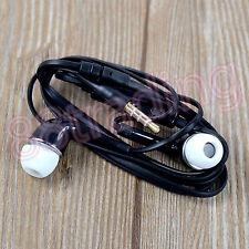 Negro Anti Enredo en oreja Bud auriculares auricular manos libres para teléfono Samsung