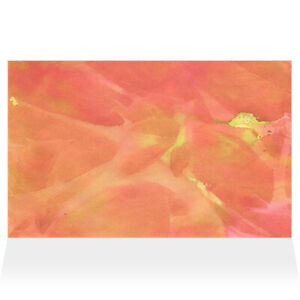 Home Decor Wall Sign Orange and Yellow Frozen Art Picture Frame