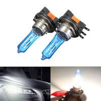 6000K Xenon HID Style 50W H15 Dual Beam DRL Halogen Car Head Lights Bulbs