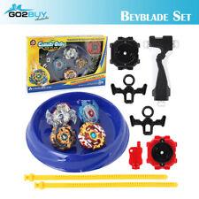 8Pcs Assorted Beyblade BURST Launcher Battling Box Set Spinning Tops Blade Kit