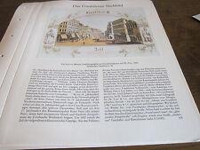 Frankfurt Archiv 2 Stadtbild 1071 Die Zeil von Westen 1860 Ph. Frey
